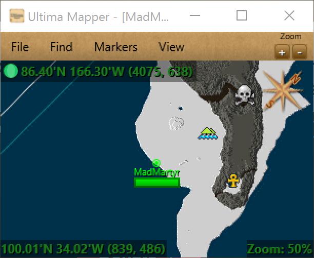 Ultima Mapper on